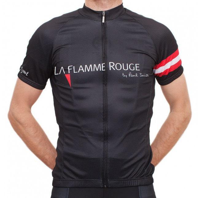2015 newest la flamme rouge cycling clothes short sleeve cycling jersey bib  short with gel pad  e8431a5b6