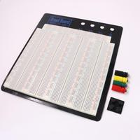 3220 Hole Point Solderless Breadboard Welding Free Circuit Test Board ZY 208 MB 102 Breadboard Free