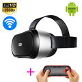 All-in-One M1 3D VR BOX Movie Game Video Android 5.1 OS Glasses 1920*1080p Bluetooth WiFi Google Cardboard With Remote Gamepad