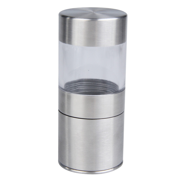 Charmant Simple Stainless Steel Manual Salt Pepper Mill Grinder Kitchen Mill Muller  Kitchen Tool Spice Sauce Grinder