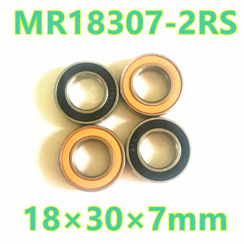 2017 Real New 4pcs 18307-2rs 18307 6903 Rs Mr18307-2rs Gcr15 Hybrid Ceramic Thin Wall Bearing Shielding Ball Bicycle 18*30*7 коммутатор d link dgs 3120 24sc b1ari