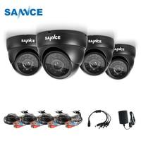 SANNCE 4PCS 1080P CCTV Camera 2.0MP CCTV Security Camera IR indoor outdoor IP66 CCTV Surveillance Cam kit