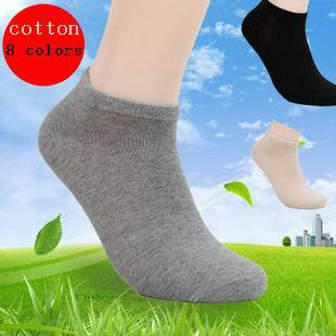 Free Shipping 14pcs=7 pairs/lot Mans Fashion cotton Socks, high quality men sox soks