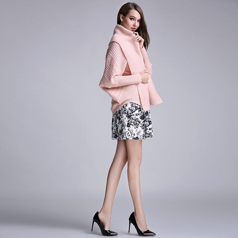 Soft Fashion Sleeve Sweater Jumper Winter Bat Long Sweaters Ol Jacket Elegant Korea Coat white Female Pink Pink 2019 Women Cardigan Knitted ZqfE4
