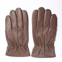 2018 New Winter man gloves warm soft mens glove men mittens sheep hair lining Sheepskin Genuine leather