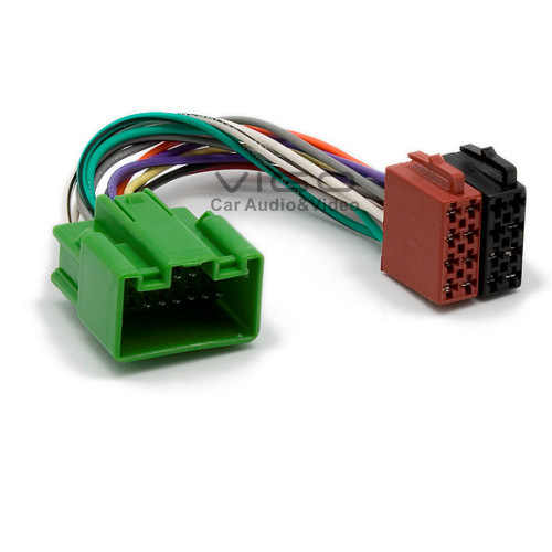 12 032 ISO Radio Plug for VOLVO C30 C70 S80 S40 V50 V70 XC70 ... Xc Radio Wiring Harness on