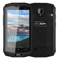 Original AGM A8 Mini IP68 Waterproof Mobile Phone 4 0 2GB RAM 16GB ROM Qualcomm MSM8909