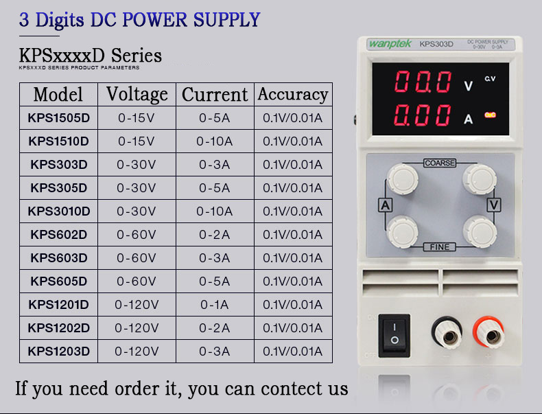DC POWER SUPPLY (12)