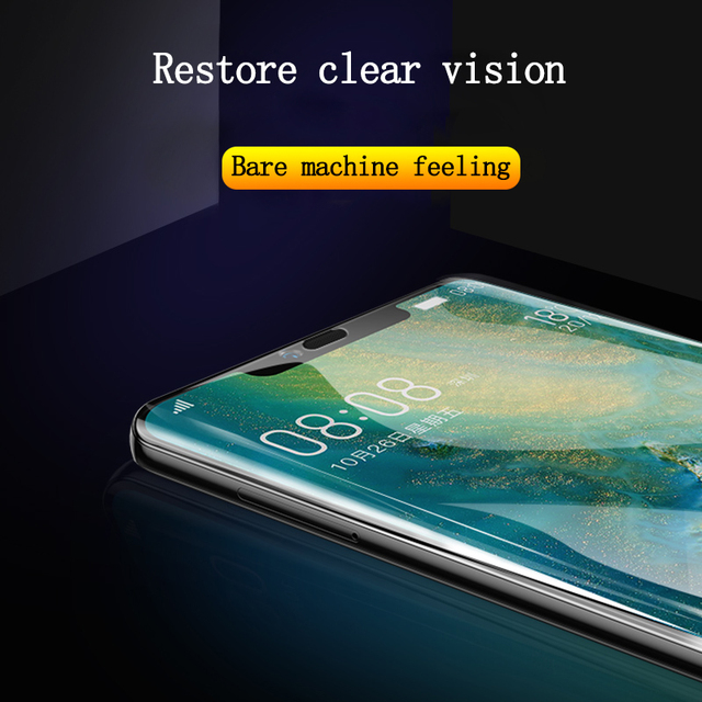 Screen Protector Hydrogel Film For Huawei P40 P20 P30 Lite Protective Film For Honor Mate 30 20 40 Pro 10 i Lite Film Not Glass 3