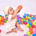 100 Unids Colorido Bolas de Bebé Juegue Pozos de Plástico Blando Océano Balls Funny Baby Kid Swim Jugar Piscinas De Bolas de Juguete