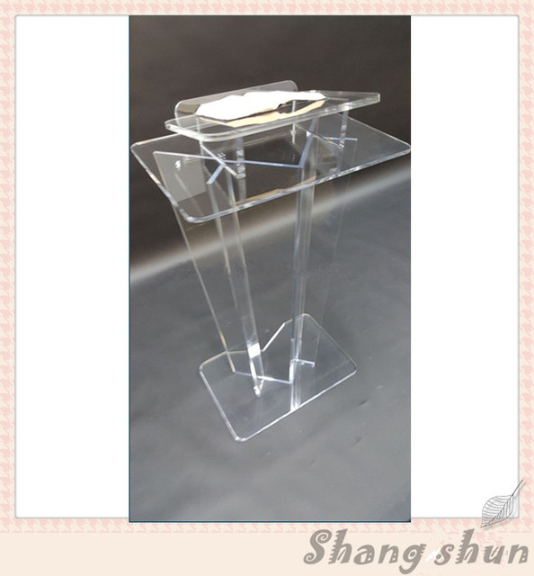 Acrylic lectern for speeches plexiglass rostrum podium lectern perspex podiums lectern