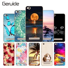 hot deal buy phone cases for xiaomi redmi 4a case 5.0'' lovely colorful printing tpu soft silicone cover for redmi 4a 4 a back cover redmi 4a