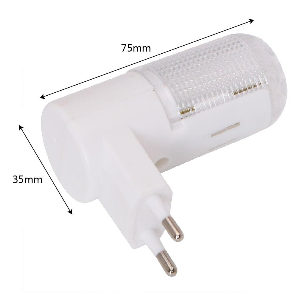 Lámpara de pared de 4 LED Enchufe de la UE Enchufe de EE. UU. - Luces nocturnas - foto 3