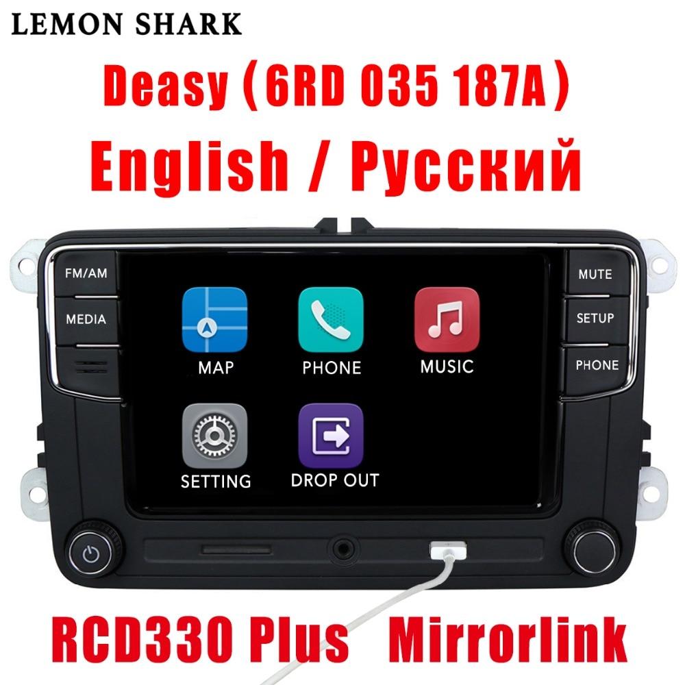 MIB RCD330 Plus RCD330G RCD Rádio Do Carro 330G 510 RCN210 6.5 6RD 035 5 6 187A Para VW Golf b6 B7 MK5 MK6 CC Tiguan Passat Jetta Polo