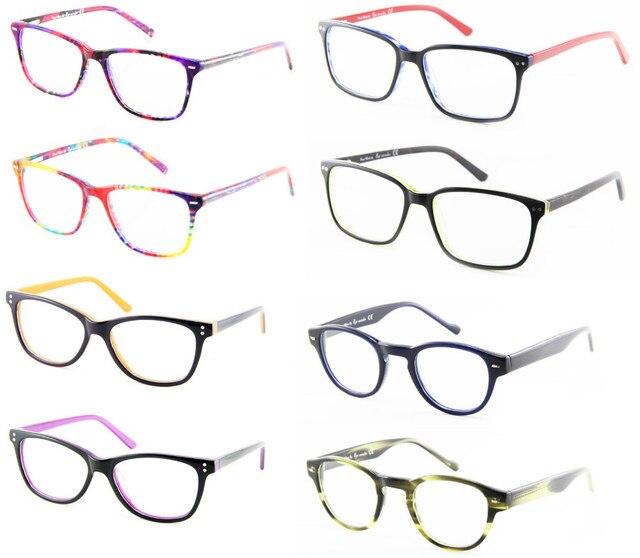 e80b6c8ef Atacado homens óculos de mulheres de óculos armações de óculos óculos de  grau de moda Femininos