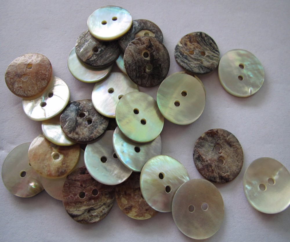Mother of Pearl shell button Sewing Buttons Scrapbooking Knopf natural shell buttons for sweater in Buttons from Home Garden