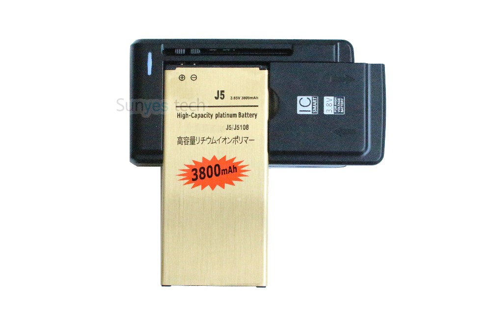 3800mah eb bj510cbc gold replacement battery universal charger for 2016 edition samsung galaxy. Black Bedroom Furniture Sets. Home Design Ideas