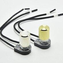 3а лампа поворотный переключатель потолочного освещения настенный светильник переключатель лампа ручка переключатель 2 провода один контроль 3 шт./лот