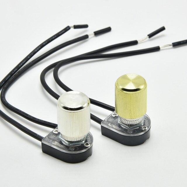 Najnowsze 3A lampa przełącznik obrotowy sufitowe włącznik światła ściany XQ48