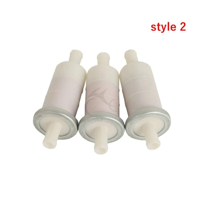 """5pcs Fuel Filter 3//8/"""" 10mm Fuel Line For Honda CBR600 GL1800 GL1500 VT750 VT1100"""