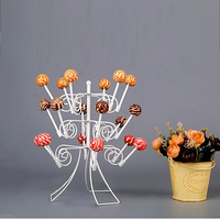 Wedding Ceremony Birthday Party DIY 18 Hole Lollypop Lolly Pop Candy Pastry Sweets Round Cake Pop