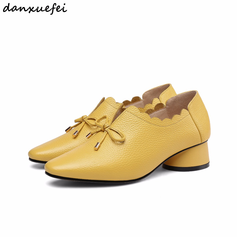 3 Color plus size 33 40 women's genuine leather slip on