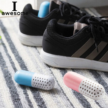 2pcs Shoe Deodorant Deodorizer Cute Pill Shape Shoe Dryer Antimicrobial Smell Remove Closet Deodorant Drawer Moisture Absorber 1 pair shoe deodorant cute pill shape shoe dryer deodorant antimicrobial carbon moisture absorber closet drawers shoe deodorizer