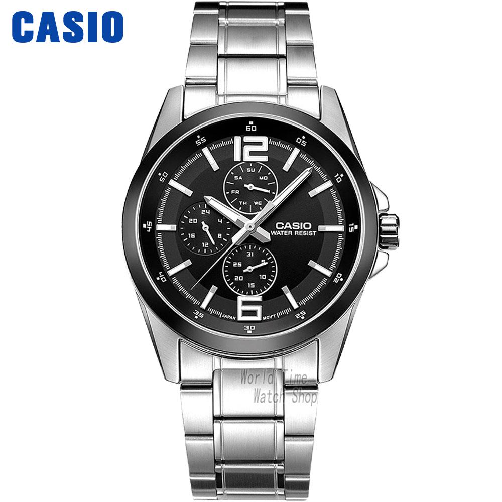 Casio watch Fashion leisure three watches quartz male watch MTP-E306D-1A MTP-E306D-5A MTP-E307D-1A MTP-E308D-7A MTP-E308L-1A часы casio mtp 1377l 5a