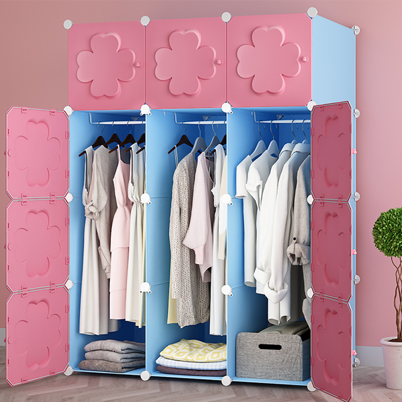Childrens wardrobe Bedroom organ storage furniture When the quarter wardrobe  fold Portable Storage Cabinet bedroom furniture Childrens wardrobe Bedroom organ storage furniture When the quarter wardrobe  fold Portable Storage Cabinet bedroom furniture