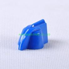 все цены на 10pcs Colorful Rotary Control Blue Vintage Plastic Knob 31x16mm fr Potentiometer 6.35mm Shaft онлайн