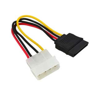 Image 5 - Marsnaska Excellent 1pcs Serial ATA SATA 4 Pin IDE to 15 Pin HDD Power Adapter Cable Hard Drive Adapter Male to Female Cable