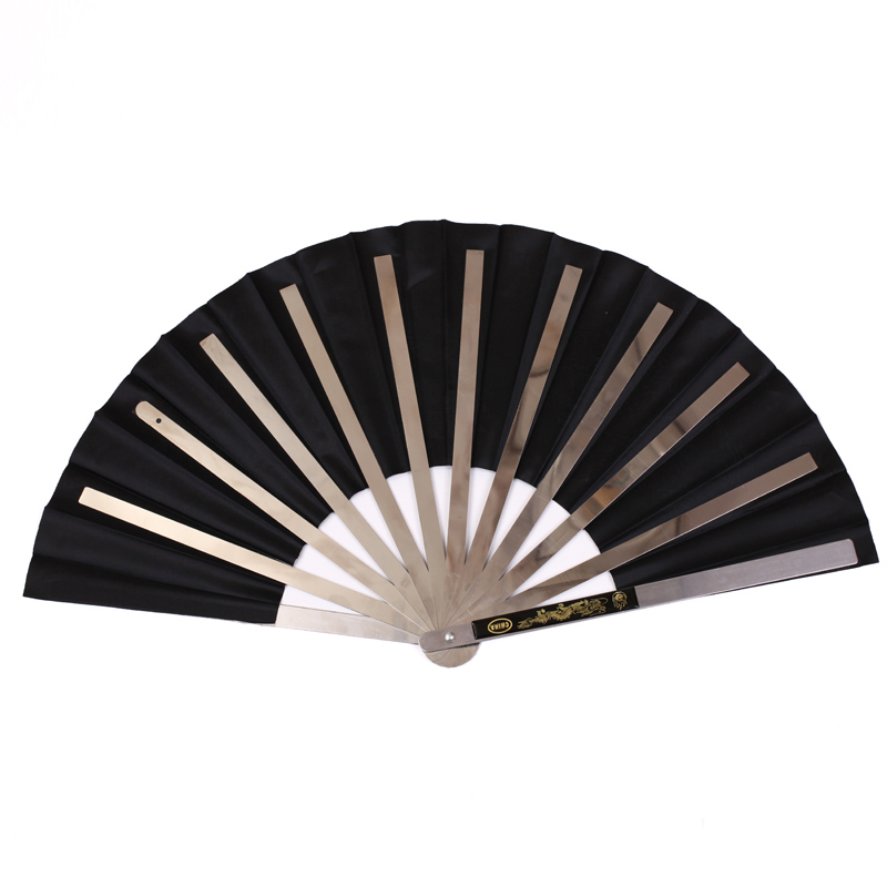 Dragon Stainless Steel Frame Tai Ji Fan 4