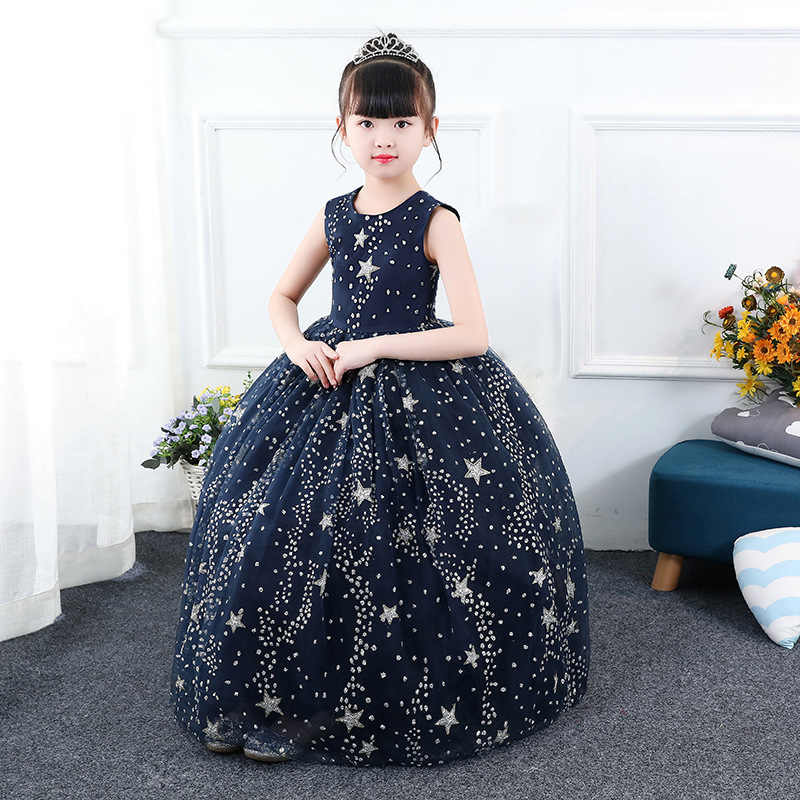 a5c2d806ef2e9 Formal-dresses-for-teens 4 To 10 11 12 13 14 Years Old Kids Long Birthday  Party Ball Gown Girl Dress Kids Formal Dress for Girls