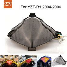 Motorcycle Integrated LED Tail Light Brake Turn Signal Blinker For Yamaha YZF R1 YZF-R1 2004 2005 2006 цена и фото