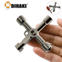 Multi-function 4 In 1 Universal Cross Key Triangle Key for Train Elect