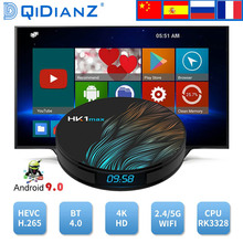 new!!HK1MAX Smart tv box Android 9.0 2.4G/5G Wifi BT 4.0 RK