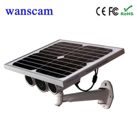 Wanscam 720P outdoor solar battery power wireless wifi Security CCTV IP camera build in 16G TF cards support 128G TF card