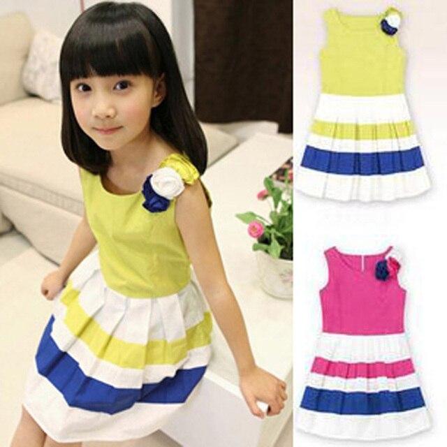 Kleid gelb kind