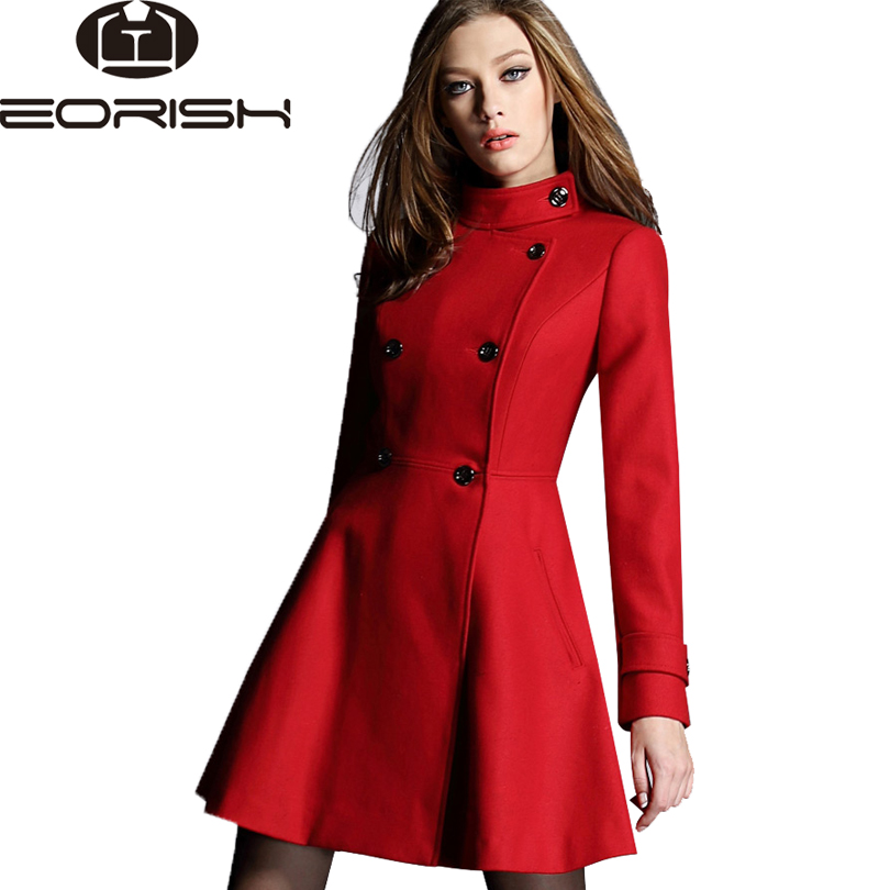 Online Get Cheap Dark Red Coat -Aliexpress.com | Alibaba Group