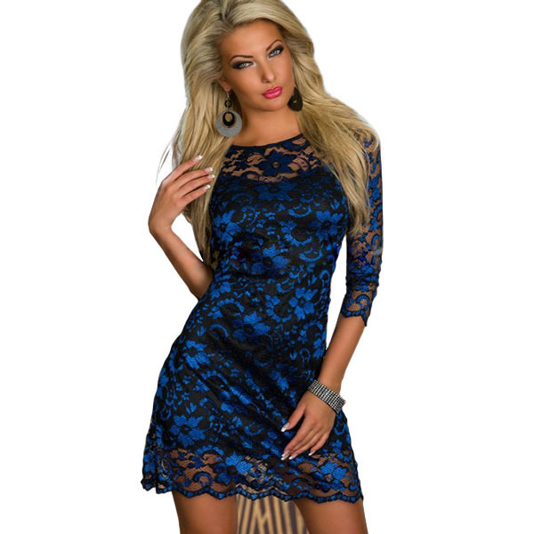 2015 Hot Sale New Fashion Trend Women's Crochet Dress New ...