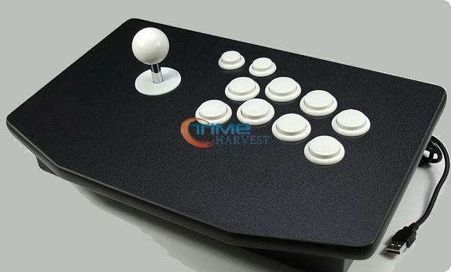 US $52 5 |Arcade stick with 8 actuation buttons/rocker street fighter  computer arcade joystick game controller for USB,PC,PS2,PS3 consoler-in  Coin