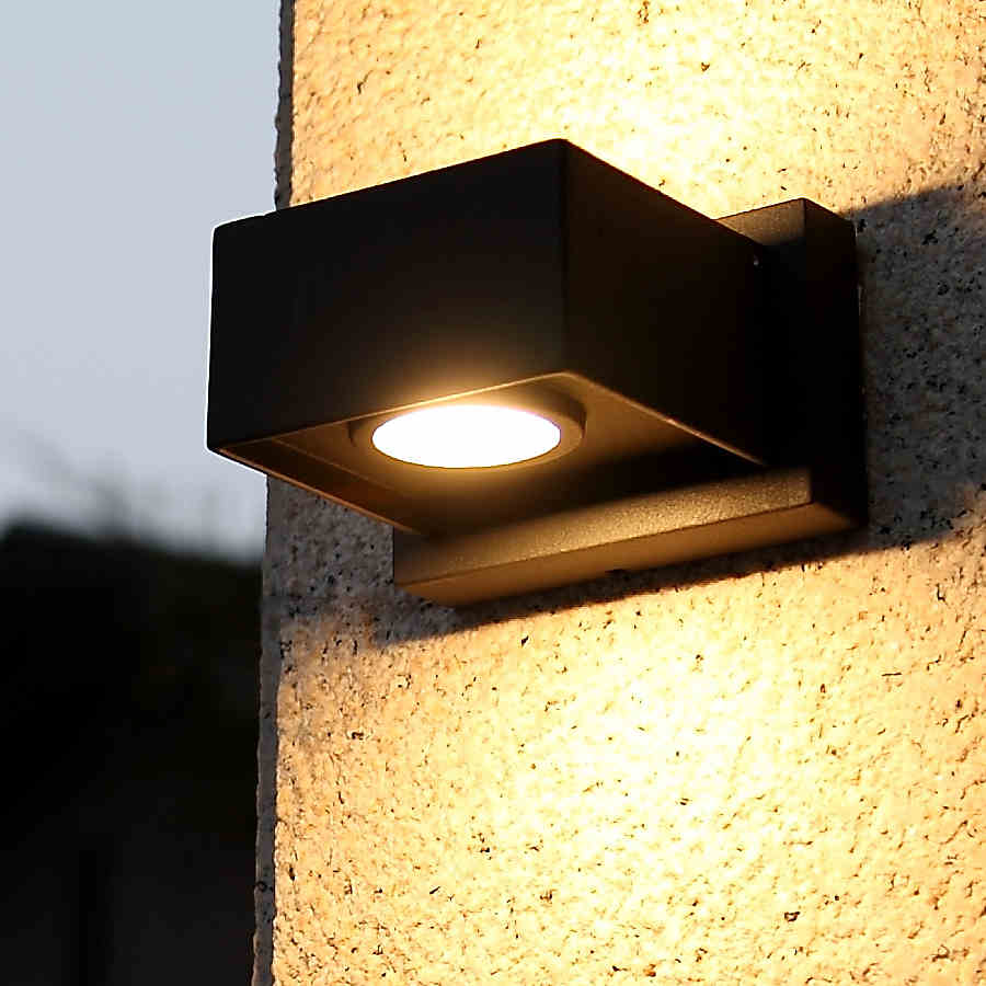 Buy Exterior Led Wall Light Outdoor Waterproof Balcony Light Garden Lamp From