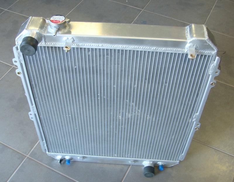 3 ROW 56mm Aluminum Radiator For Toyota Hilux surf KZN130 1KZ TE 3 0 TD 93