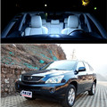 6pcs LED Bulb Interior Lights Package Kit For Lexus RX 2004-2008 Front  center Dome Map Trunk Lights