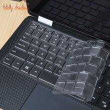 Для DELL XPS 9365 13-9370 9380 13 9343 13-9360 9350 13,3 дюймов/XPS 15 9570 15,6 ''защитный чехол для клавиатуры из ТПУ для ноутбука