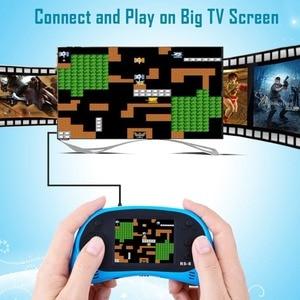Image 4 - RS 8 Console de jeu portable pour enfants construit en 260 classique vieux jeux vidéo 2.5Lcd rétro Arcade joueur de jeu TV sur cadeau danniversaire