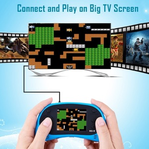 Image 4 - RS 8 Handheld Game Console for Kids Built in 260 Classic Old Video Games 2.5Lcd Retro Arcade Gaming Player TV out Birthday Gift