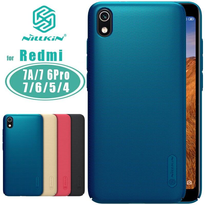 Nillkin für Xiaomi Redmi 7A Fall Super Frosted Schild PC Zurück Abdeckung für Xiaomi Redmi Hinweis 7 Pro K20 7 6 6A 5 plus Nilkin Fall