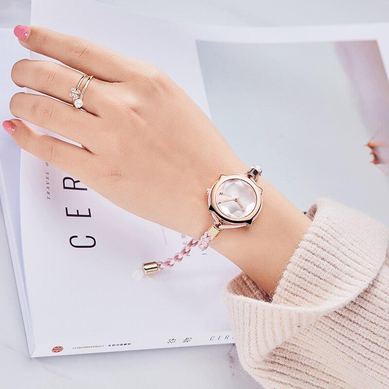 GuanQin модное платье Для женщин часы лучший бренд сладкий Дизайн кварцевые часы Для женщин Водонепроницаемый женские часы сапфир relogio feminino