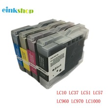 einkshop LC10 LC37 LC51 LC57 LC960 LC970 LC1000 ink Catridge for Brother DCP-130C DCP-330C 340CN MFC-685CW MFC-845CW MFC-885CW